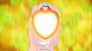 Espejo de yuko brillando
