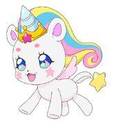 Fuwa unicornio