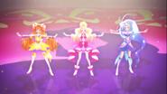 Go! Princess cantando Ima Koko Kara