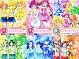 Smile Pretty Cure! McDonald's Card Collection