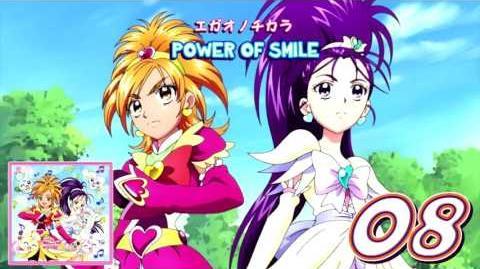 Kraft eines Lächelns