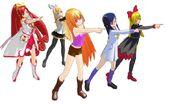 Mykuri y sus amigas