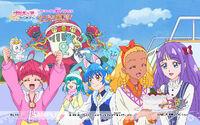 Pretty Cure Online STPC wall star 44 1 S