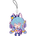 STPC Cure Cosmo Rubber Keychain