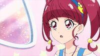 STPC21 Hikaru looks at Yuni in surprise