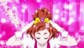GPPC Haruka placing her tiara on her head