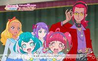 Pretty Cure Online STPC wall star 39 1 S