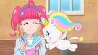 STPC39 Fuwa watches Hikaru make her a drink