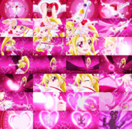 Heart shoot collage