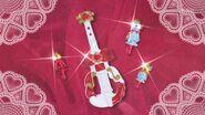 Llaves de Vestir y Violin Escarlata de Scarlet al final del episodio 22