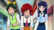Nao, Akane y Reika, con mucha hambre