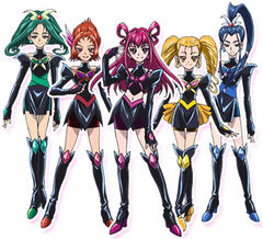 Toei - Movie 1 - Dark Pretty Cure 5 front
