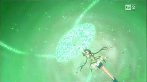 Yes! Pretty Cure 5 GoGo - Cure Mint - Emerald Saucer ITA