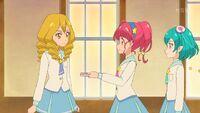 STPC35 Hikaru gives Sakurako her notepad back