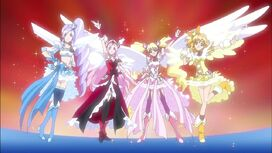 Angels pretty cure