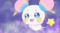 STPC19 Fuwa is happy to see the Gemini Princesses