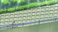 Hayashi subiendo la colina