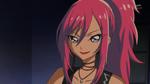 KKPCALM42-Misaki smiles proudly seeing Wild Azur's concert