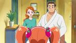 KKPCALM46-Ichika's parents welcome her home