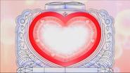 Luces del espejo de Love Eyes Pealette brillando