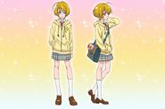 Perfiles de Homare Kagayaki (Toei Animation)