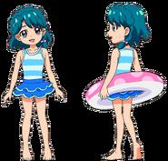 Perfiles de Minami de pequeña