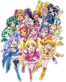 Precure All Stars DX The Movie Website