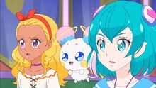 STPC17 Elena and Lala look over at Hikaru
