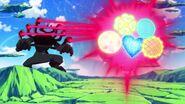 Shield attacks hugtto