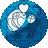 Blue heart seed