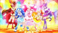 KiraKira PreCure A La Mode Group Pose