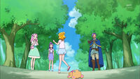 Mirai dementrates what happened when she met Riko