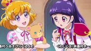Riko pregunta a Mirai por la varita