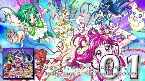 Yes! Pretty Cure 5GoGo! OP&ED Theme Single Track01