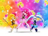 Pretty Cure Kururin Mirror Change!