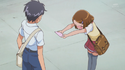 Mayumi tells him to except her feelings