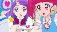 STPC29 Hikaru and Madoka wonder what the pink cube is