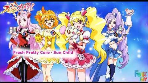 Fresh Pretty Cure・Sun Child-1