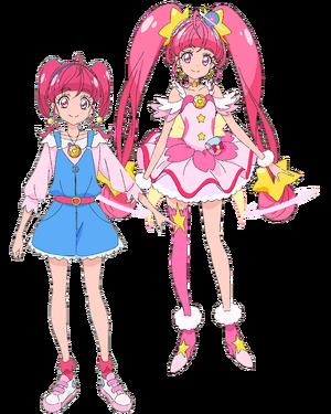 Hikaru Hoshina y Cure Star