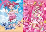 Lawson Star Twinkle Summer Collab Hikaru Star A4 Clear File