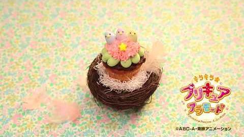 Making Of Bird Cupcake
