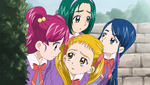 YPC517 Girls wonder if Rin will be okay