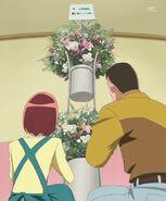 Arreglo floral de los padres de Tsubomi
