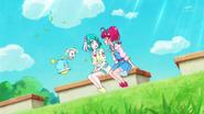STPC2.36-Hikaru diciéndole a Lala que puede ser una Cure y ser ella misma