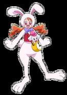 Perfil de Ichika disfrazada de conejo