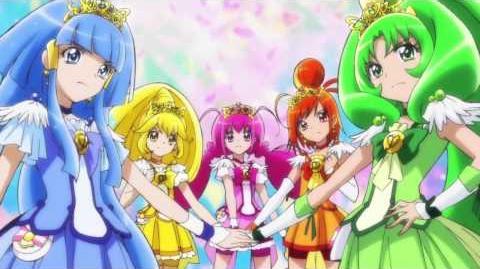 ¡Curación Arcoiris Pretty Cure!