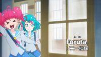 STPC40 Hikaru says good morning to her classmates
