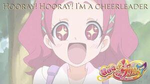 HUGtto PreCure Hooray! Hooray! I'm a Cheerleader Kan Rom Eng
