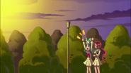 Tsubomi y Erika quieren que Yuri las acepte como Pretty Cures