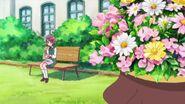 Michio espía a Nodoka en el almuerzo